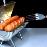 How to Make a Mini Barbecue Grill Using a Soup Can