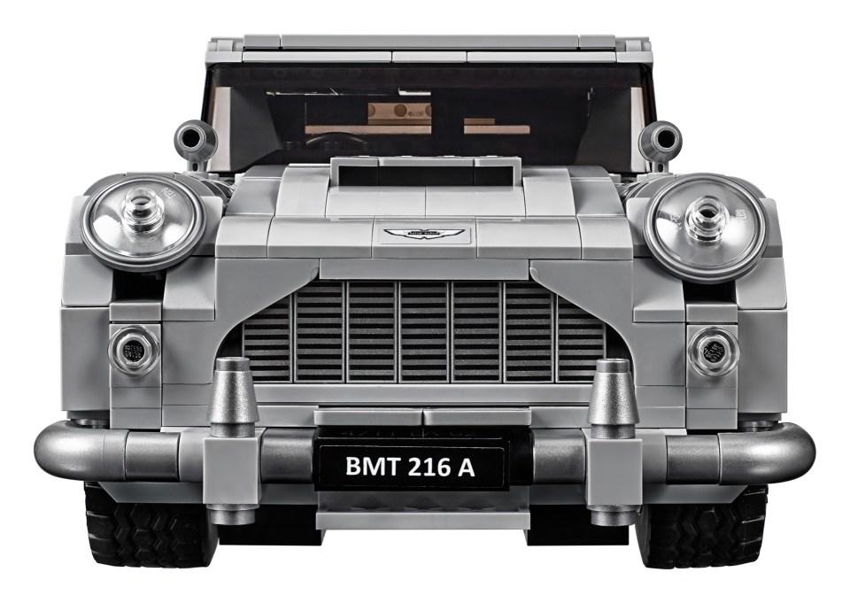2018 LEGO Creator Expert James Bond Aston Martin DB5 Front View