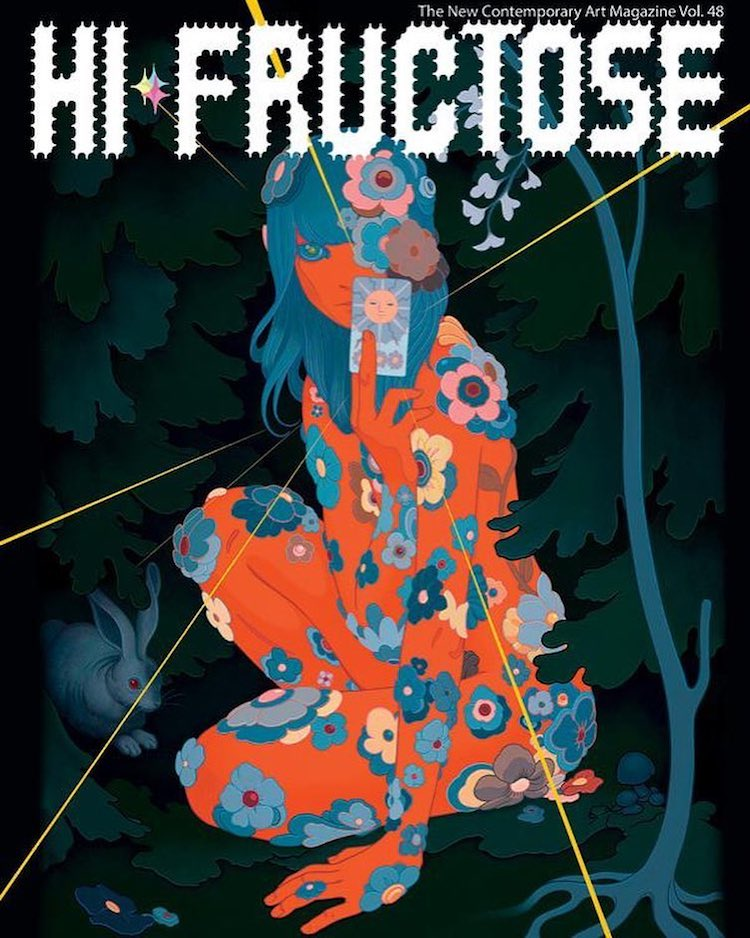 Hi-Fructose-48 A Preview of the Stunning Artwork Featured in Volume 48 of Hi-Fructose Magazine Random