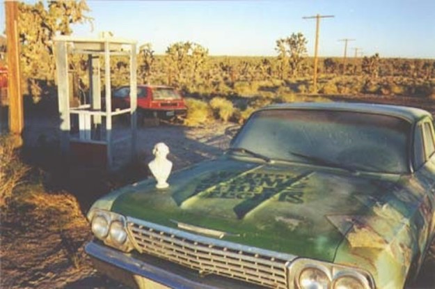 Mojave-Phone-Booth-Car Adventures With the Mojave Phone Booth, The Tale of an Isolated Phone Booth's Rise and Fall to Fame Random