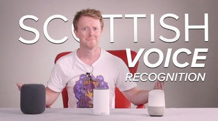 Scottish-Voice-Recognition Scottish Editor Tests Siri, Alexa and Google Voice Assistant to See Which Understands His Accent Random