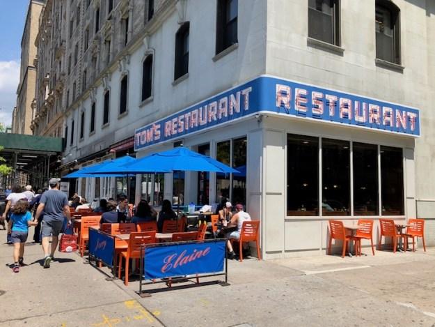 Toms-Restaurant Tom's Restaurant, The Exterior of Seinfeld's Monk's Café & Inspiration For Suzanne Vega's 'Tom's Diner' Random