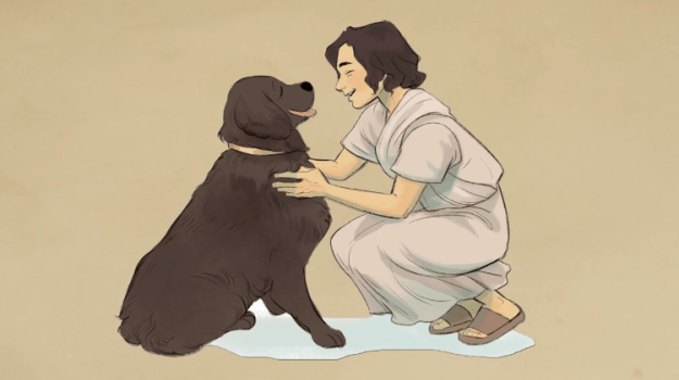 Dogs-of-Ancient-Rome The Breeds, Personalities, Temperaments and Physical Traits of the Beloved Pet Dogs of Ancient Rome Random