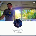 Homeowner Gets Locked Out When the Nest Doorbell Mistakenly Identifies Him as the Batman on His T-Shirt