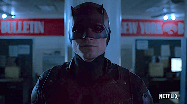 Daredevil Wilson Fisk Enlists a Fake 'Devil of Hell's Kitchen' to Take Down Matt Murdock in Season Three of 'Daredevil' Random