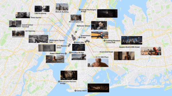 A Lively Video Map of New York City Showing Exactly Where