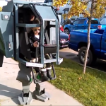 Cosplaying Father Builds a Brilliant MechWarrior Costume That Requires an Adult and Child to Operate