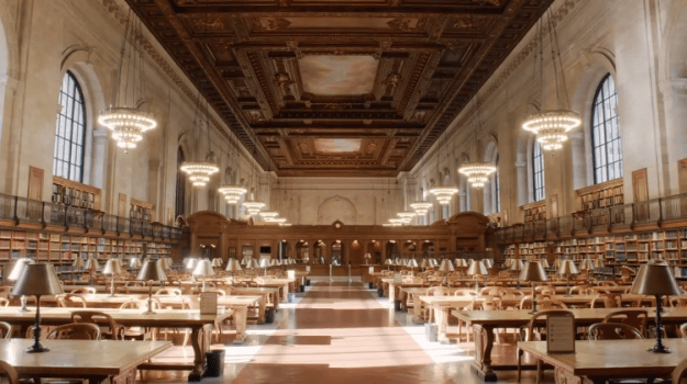 NYPL-Reading-Room An Informative Guided Virtual Tour of the Incredible Architectural Details of the New York Public Library Random