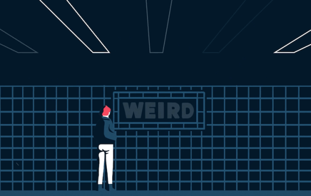 Weird A Beautifully Animated Poem About Remaining True to One's Weird Self Despite What Anyone Else Has to Say Random