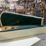 Adam Savage Builds a Custom Carry On Travel Guitar Case Out of Sailcloth for Monty Python's Eric Idle