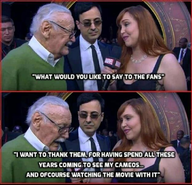Stan-Lee-Thanks-Fans Stan Lee Thanks His Fans Random