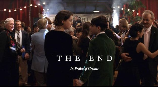 The-End-Closing-Credits The Forgotten Luxury of Taking a Reflective Moment During the Closing Credits of a Film or Television Show Random