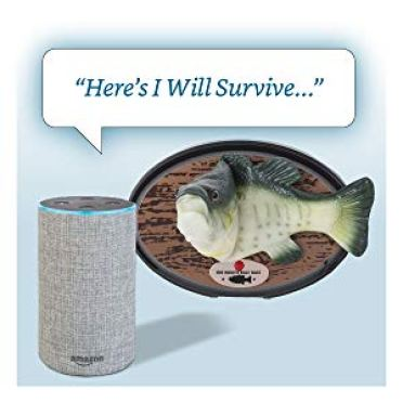 I-Will-Survive-Billy-Big-Mouth An Official Alexa Enabled Big Mouth Billy Bass Singing Fish That Was Inspired by a Clever 2016 Hack Random