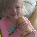 Little Girl Tearfully Refuses to Let Go of the Cuddly Squash That Her Mom Was Going to Cook for Dinner