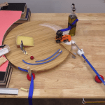 An Intricate Rube Goldberg Machine That Takes Over Four Minutes to Pass the Salt Across the Table