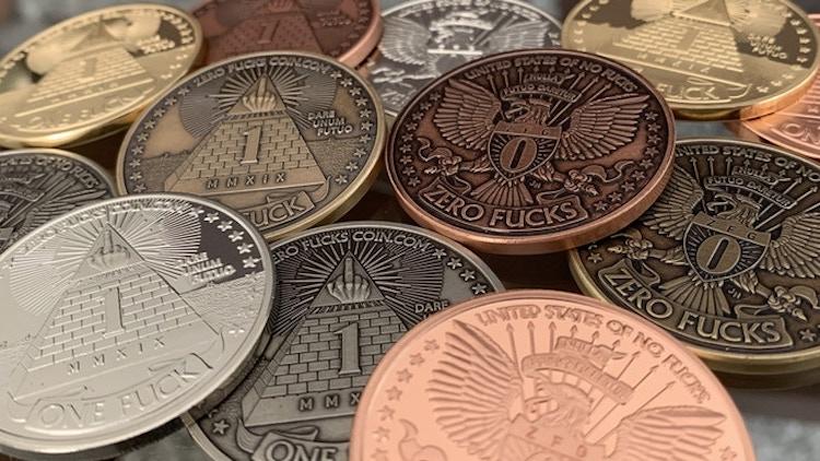 Zero Fucks Coins Multi