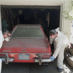 The Fascinating Process of Detailing a 1969 Mercedes-Benz 280 SL That Hasn't Been Washed in 37 Years
