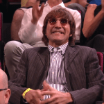 Man in 'Conan' Audience Looks So Much Like John Lennon That They Thought He Had Travelled in Time