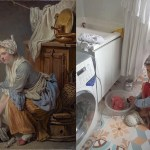 Getty Museum Challenges People to Recreate Great Works of Art With Items and People in Their Homes