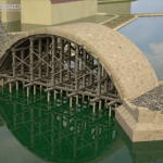 An Incredible Animation That Shows How the 14th Century Charles Bridge in Prague Was Built