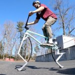BMX Riders Build a Custom Pogo Bike That Lets Them Bounce as High as They Like