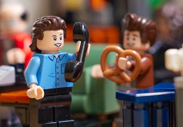 Seinfeld Lego Pretzels Making Me Thirsty