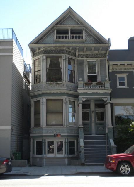 Secret Garage Door Hidden In San Francisco Victorian House