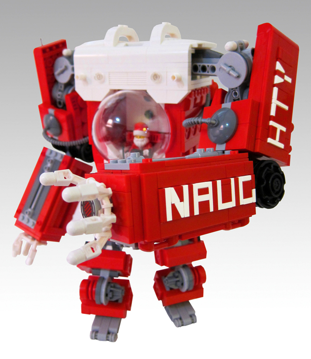 LEGO Santa Claus Mech by Mark Anderson