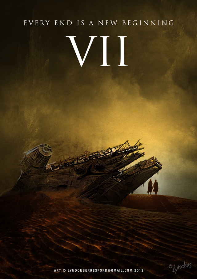 Fan Made Star Wars Episode Vii Poster Artwork By Lyndon