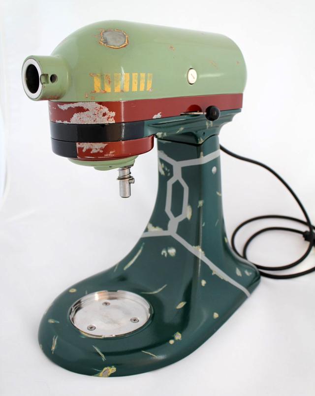 Custom Boba Fett KitchenAid Mixer