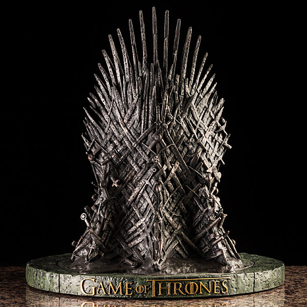 game of thrones office chair silver covers ebay a 14 inch replica the iron throne