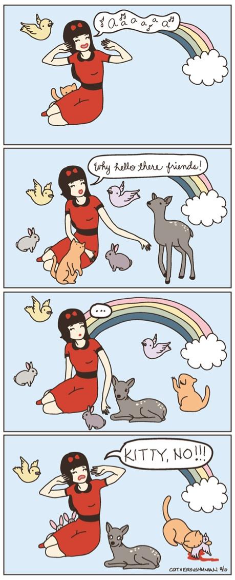 Kitty, No!!!