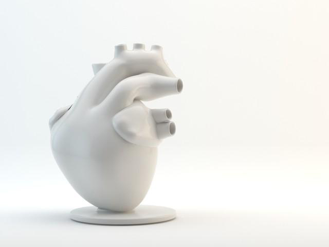 Flower Pump Heart Shaped Vase By Veneridesign Studio