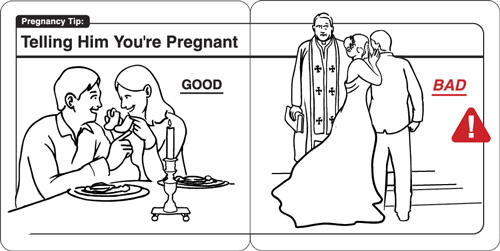 Safe Baby Pregnancy Tips, Visual Instructions For