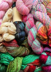 Warm and Fuzzy, Knitting Scarves for Charity