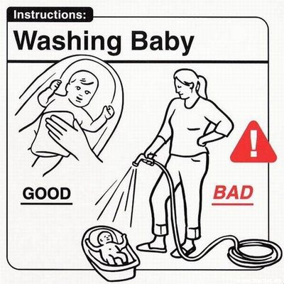 Visual Baby Instructions For New Parents