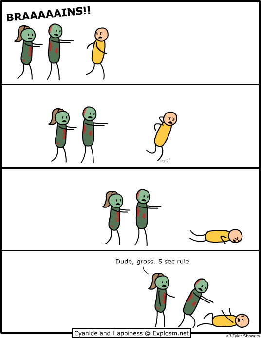 Zombie 5 Second Rule