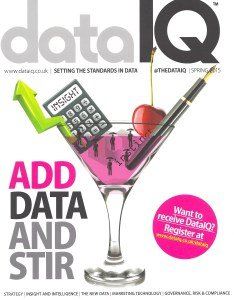 Published in Data IQ Magazine (again)