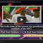 Who wants to be a president? featuring Gen. Buhari