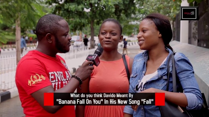 What is Banana Fall On you From Davido's new track? – DelarueTV | Street'ish