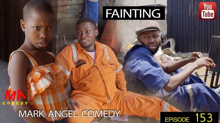 FAINTING (Mark Angel Comedy) (Episode 153)