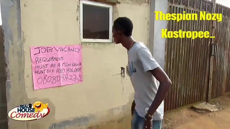 The Job Interview (Real House Of Comedy) (Nigerian Comedy