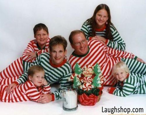 Awkward Christmas Pajamas