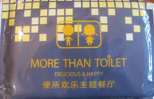 More Than Toilet Funny Sign