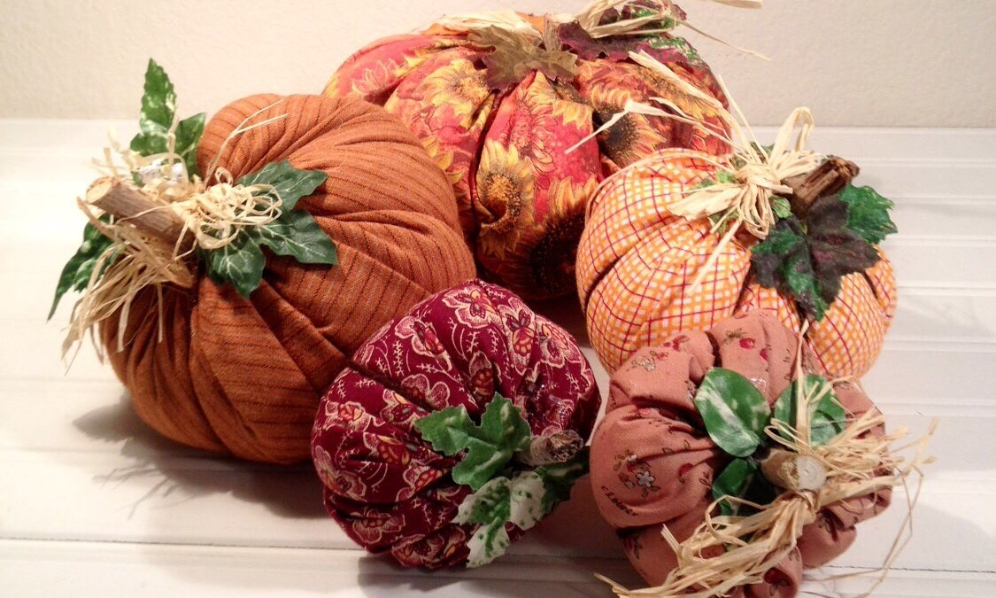 Calabazas de otoño para decorar tu casa, lindas y súper fáciles de hacer.