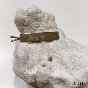 L-4119 ホワイトゴールドペンダント