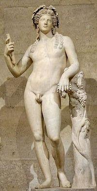 Dionisos dios griego del vino