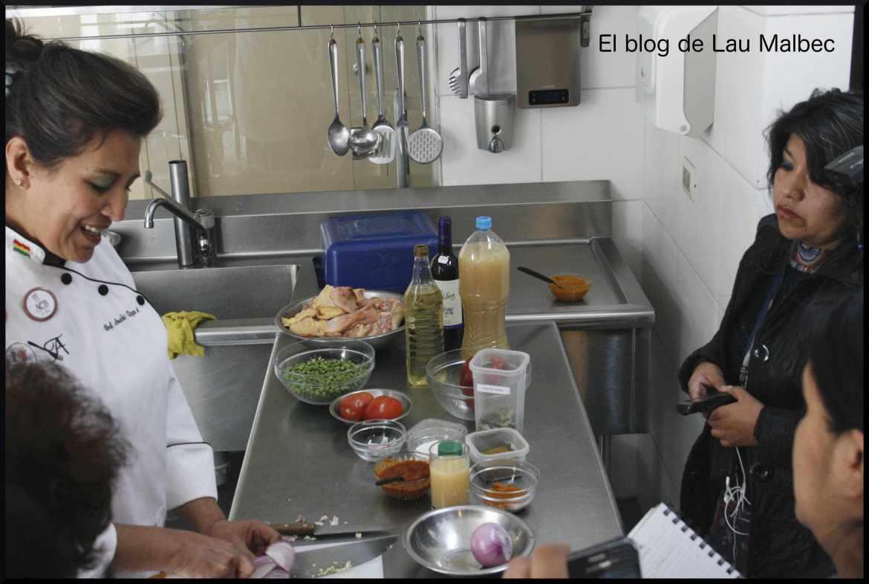 Cocinando con Anahí Reyes
