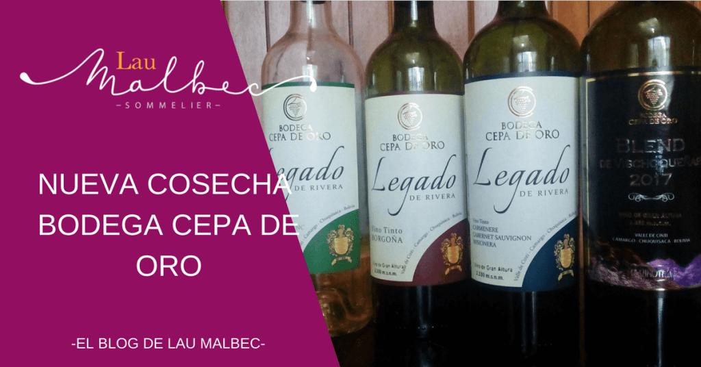 Vino boliviano Cepa de Oro