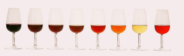 evolución cromática de los vinos de Oporto